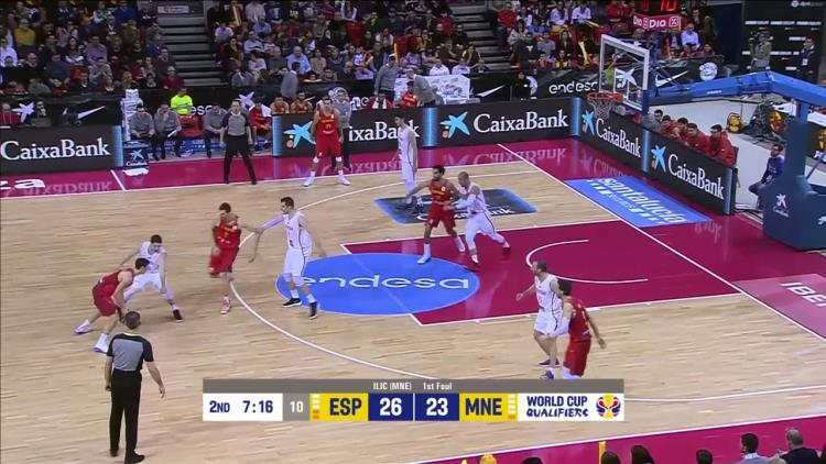 Spain pick and roll: un'idea di progressione